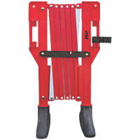 JSP  Titan Expander Barrier Red & White