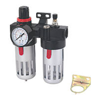 "Air Tool Filter Regulator & Lubricator ½"" BSP 1 Pack"