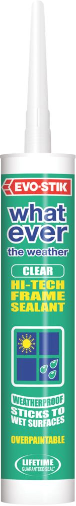Evo-Stik Whatever the Weather Frame Sealant Clear 280ml