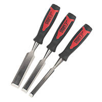 Forge Steel Wood Chisel Set 3 Pieces