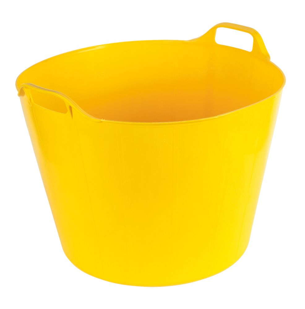 Flexi Tubs Yellow Pack of 2