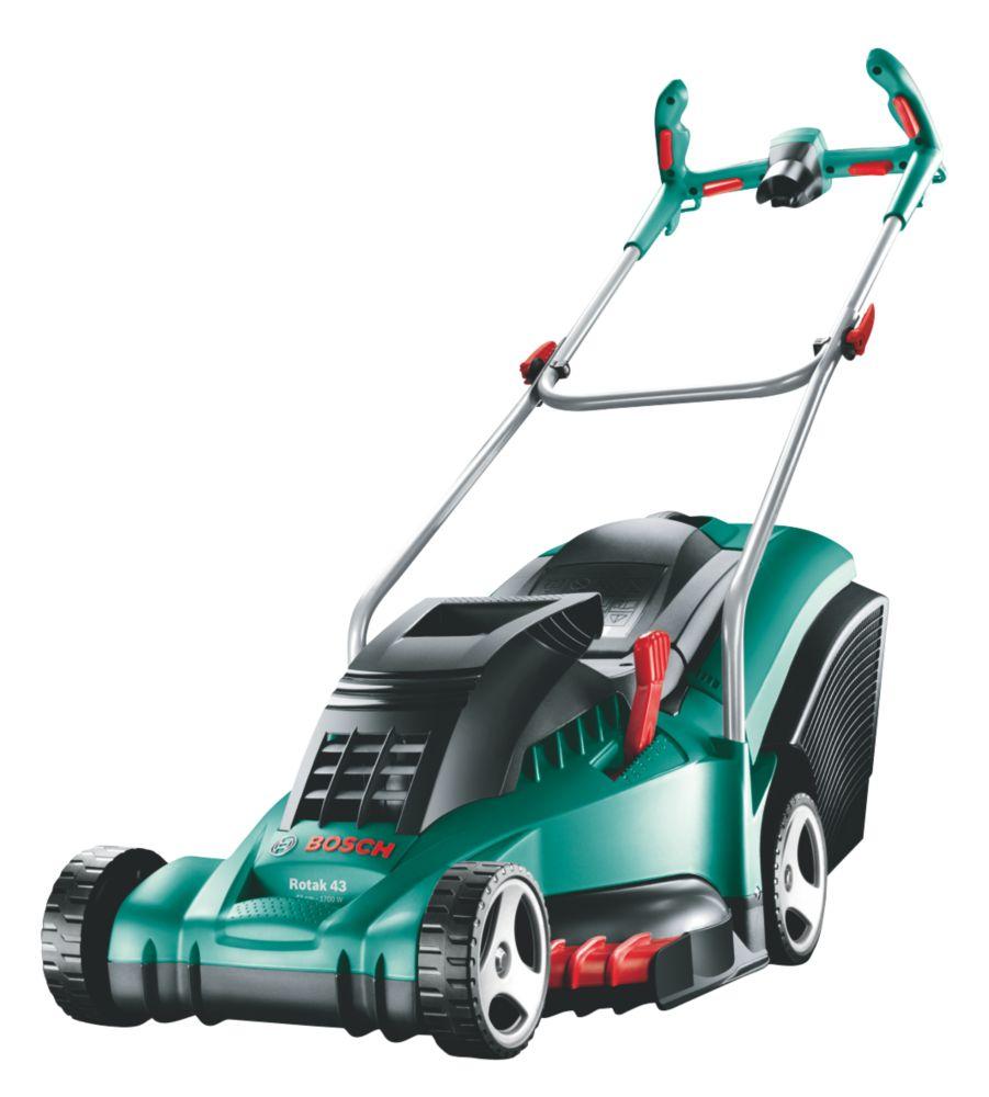 Bosch Rotak 43 Ergo Handles 43cm Rotary Electric Lawn Mower 230V