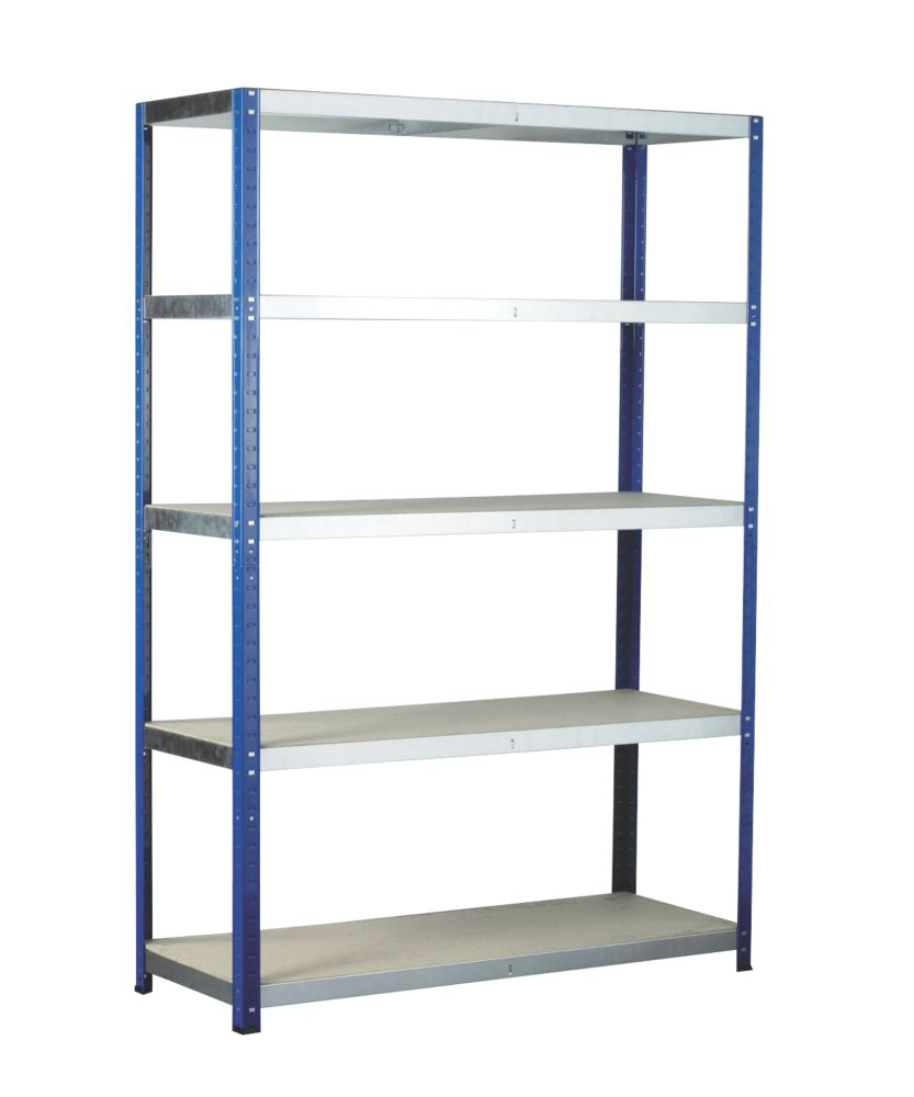 Barton Ecorax Shelving 1800 x 1200 x 450mm 5 Shelves