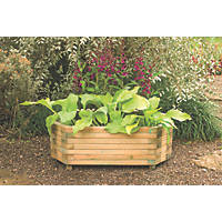 Forest Rectangular Richmond Planter Natural Wood 1000 x 500 x 360mm 2 Pack