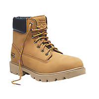 Timberland Pro Sawhorse Safety Boots Wheat Size 10