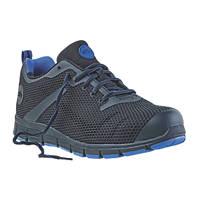 Site Flex Safety Trainers Black / Blue Size 10