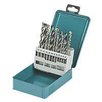 Makita Combination Drill Bit Set 18 Pieces
