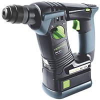 Festool BHC 18 2.6kg 18V 5.2Ah Li-Ion Cordless SDS Plus Hammer Drill