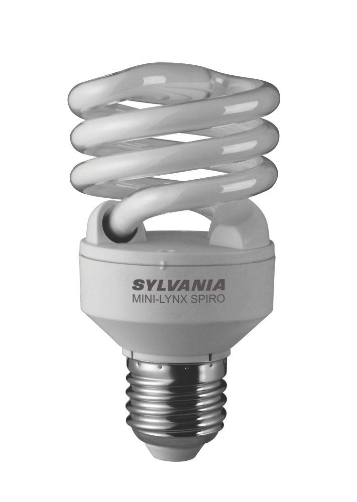 Sylvania Mini Lynx Spiral Compact Fluorescent Lamp ES 1250Lm 20W