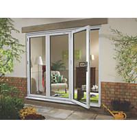 Ellbee uPVC Fold & Slide Double-Glazed Patio Door Left-Hand 2390 x 2090mm