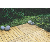 Forest  Patio Deck Tile Kit 1.2m²