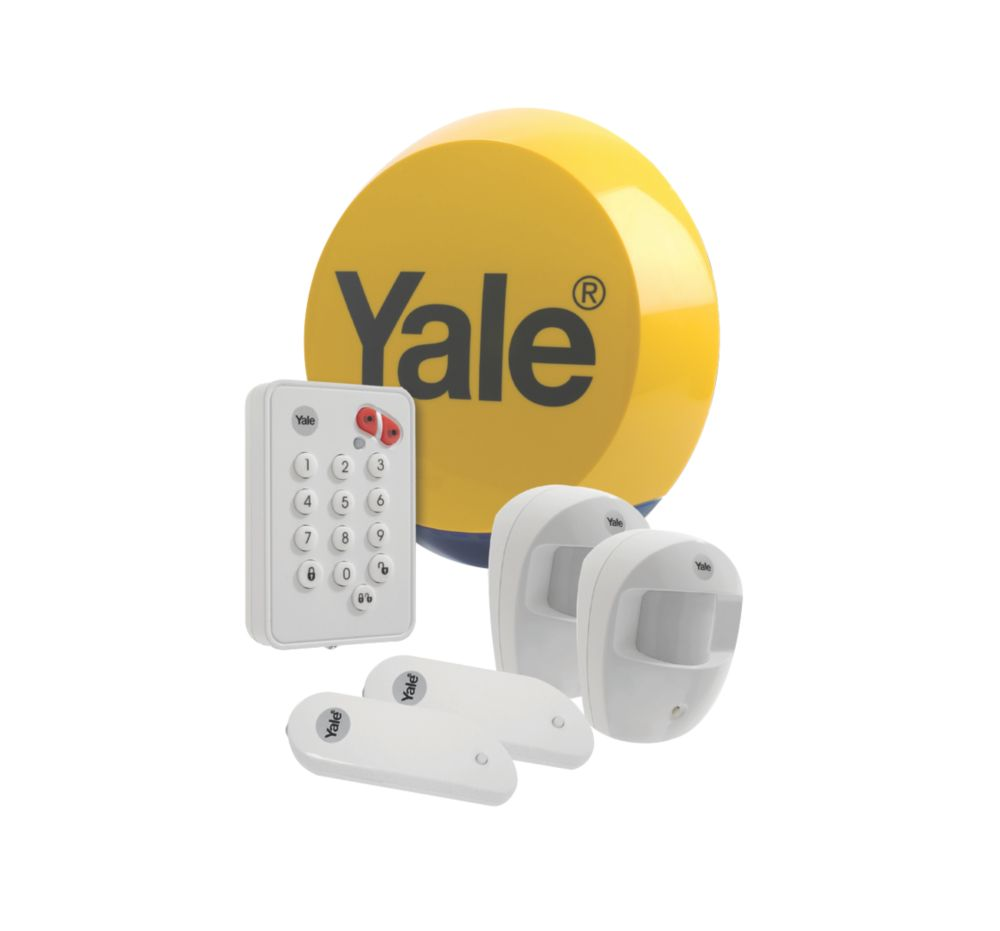 Yale Easy Fit Standard Wireless 2-Room Alarm Kit