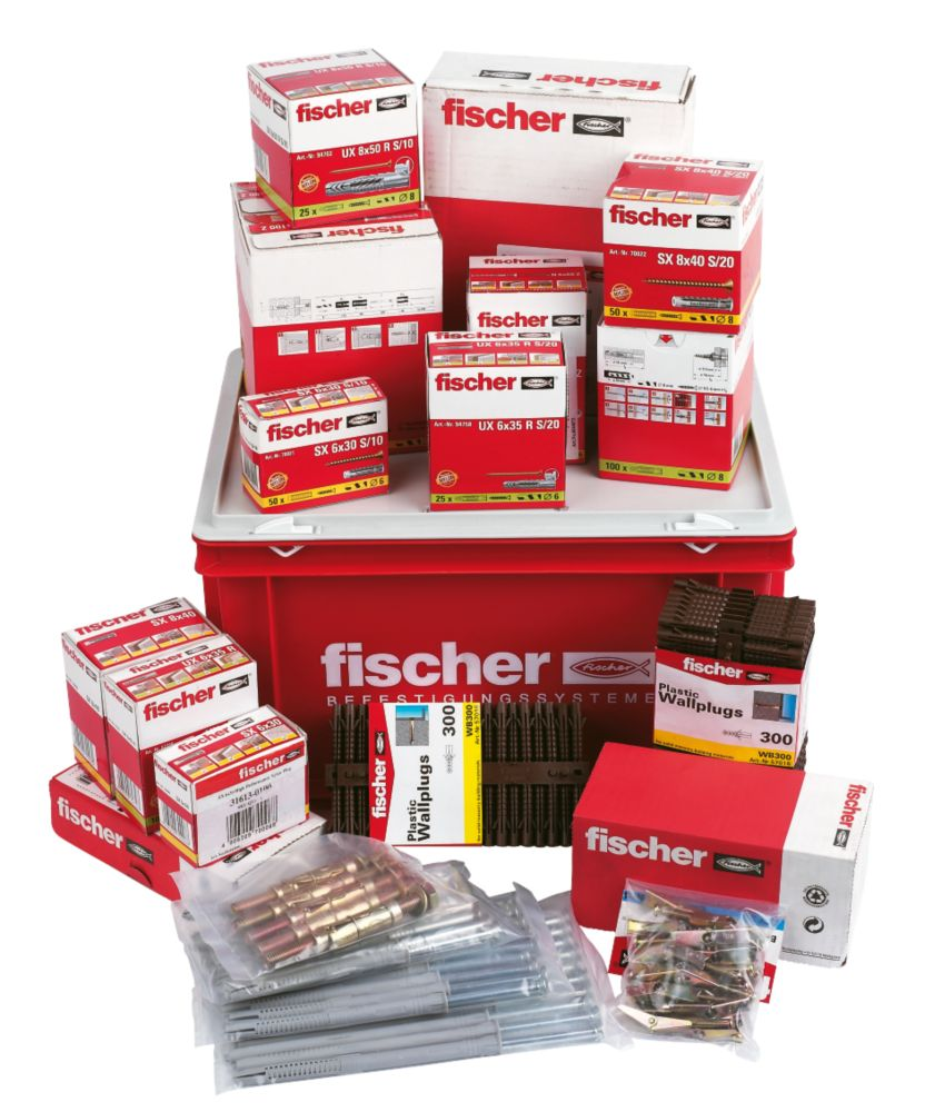 Fischer Essential Joiners Fixing Kit