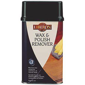 Liberon wax polish remover clear 500ml wood wax for Wood floor wax remover