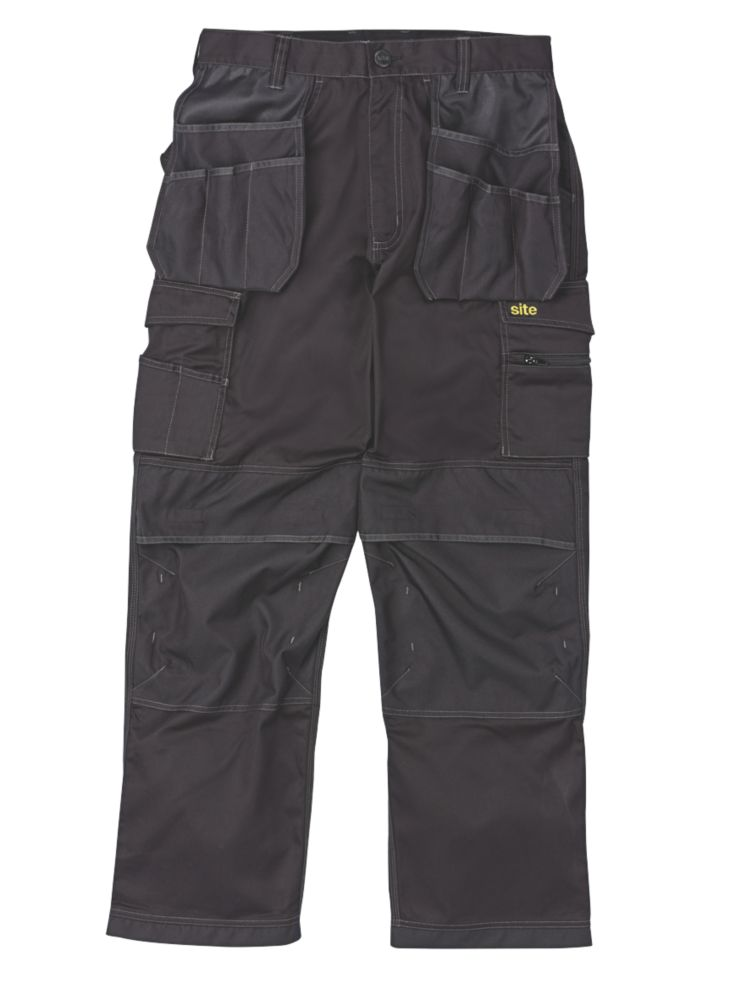 "Site Hound Holster Trousers Black 40""W 32""L"