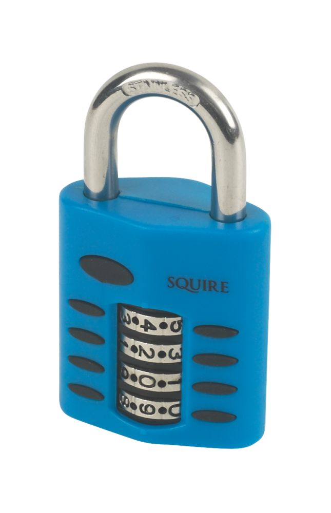 Squire Die Cast Steel Combination Padlock 40mm