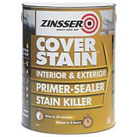 Zinsser Cover Stain Primer White 5Ltr