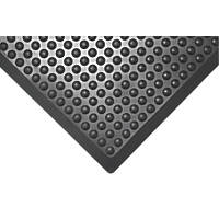 COBA Europe  Anti-Fatigue Bubblemat Black 1200mm x 900mm