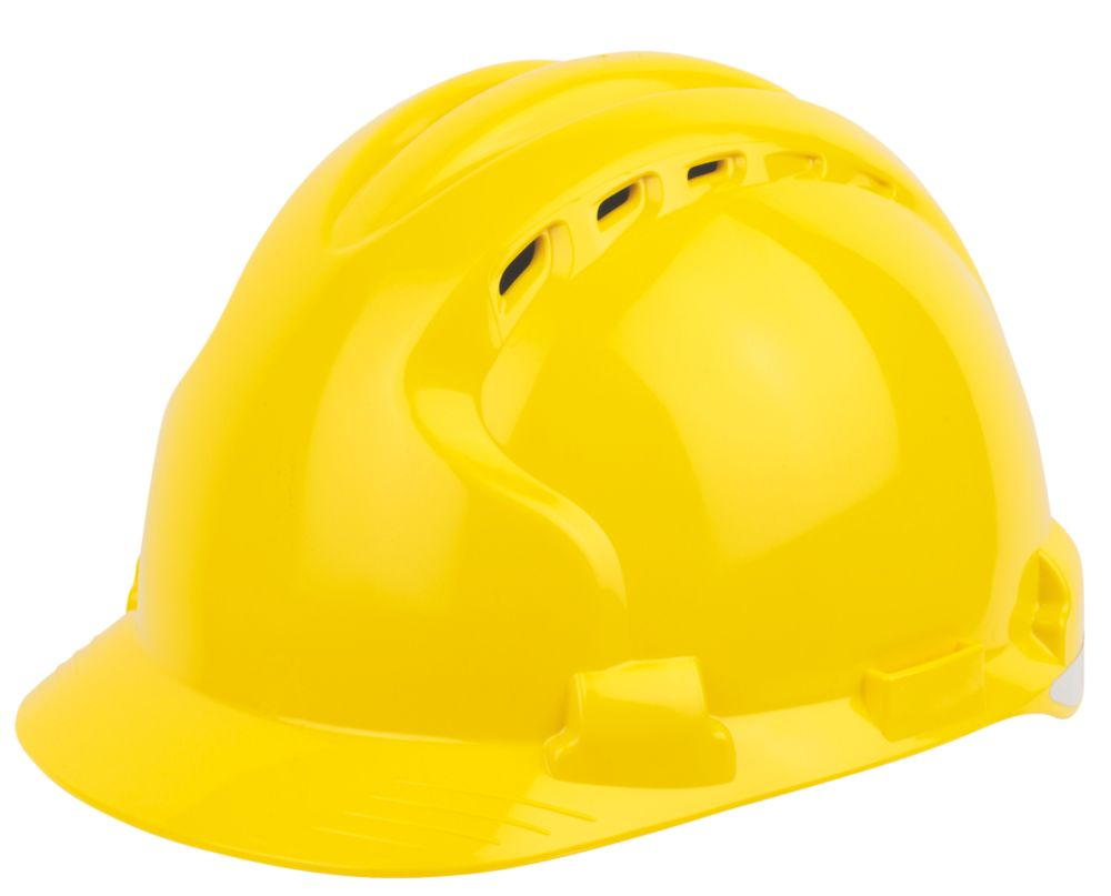 JSP EVO 8 Evolution Safety Helmet Yellow