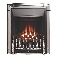 Valor Dream Slimline Chrome Slide Control Gas Inset Fire
