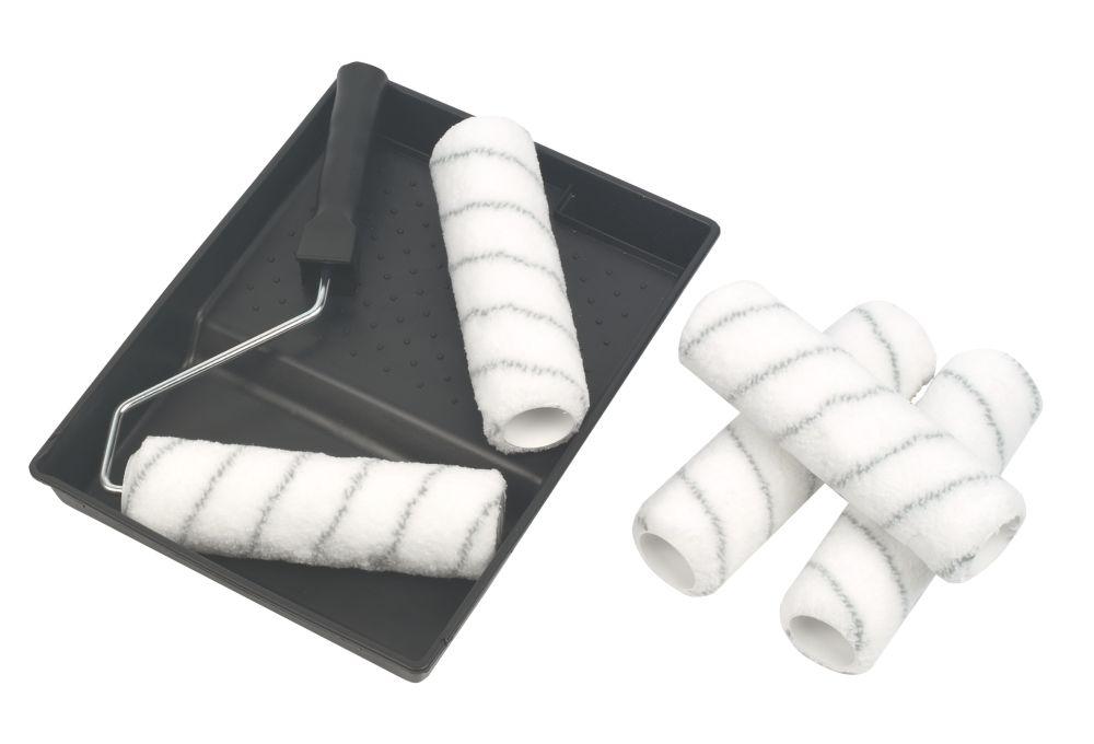Harris Woven Roller Sleeves Medium Pile 7 Piece Set