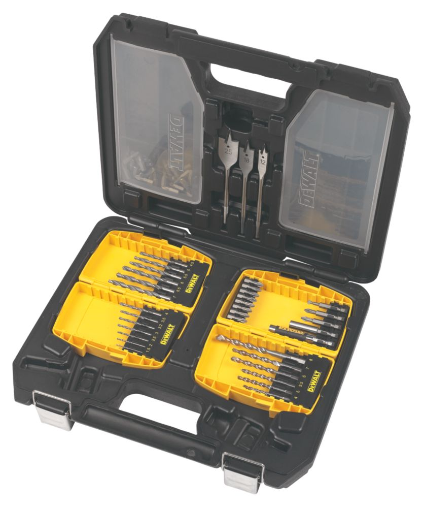 DeWalt Drill / Driver Bit Site Set 84Pcs