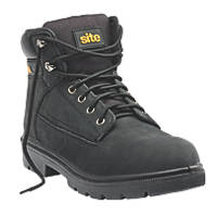 Site Marble Safety Boots Black  Size 7