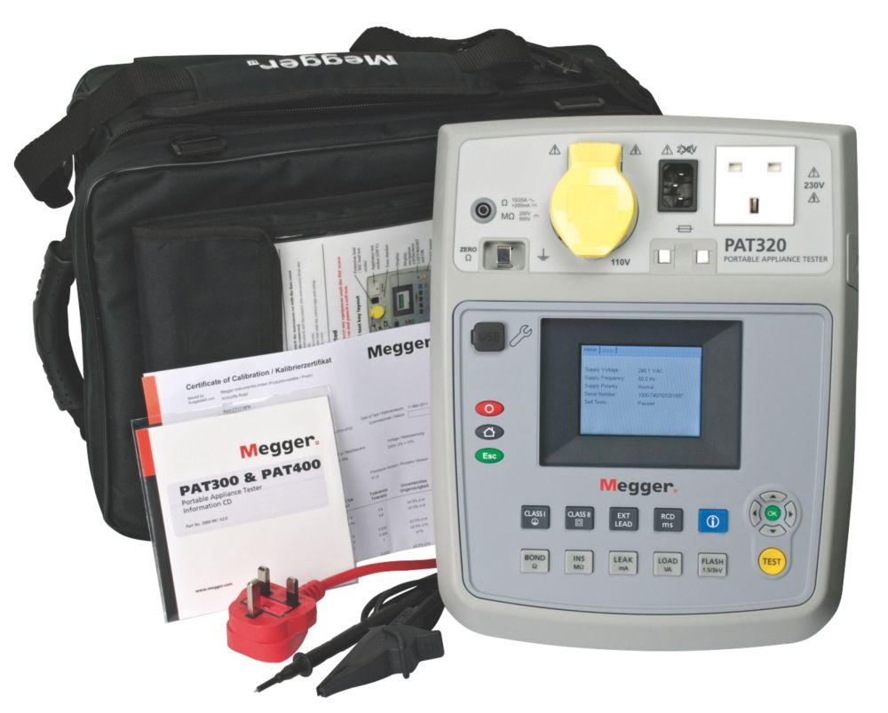 Megger Portable Appliance Tester