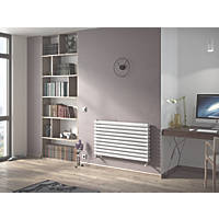 Moretti Ravello Horizontal Designer Radiator White 584 x 1000mm