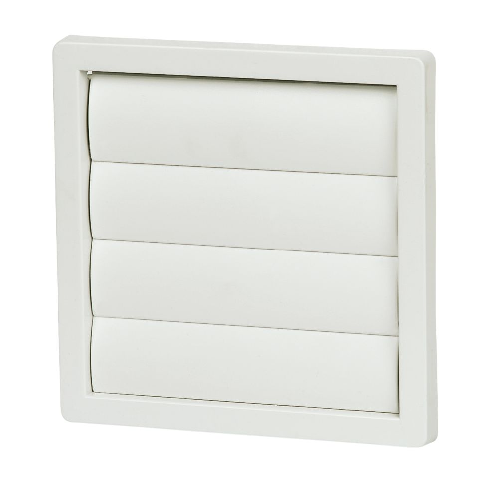 Manrose Flap Vent White 160mm x 160mm