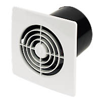 Manrose LP100ST 20W Wall Mounted Extractor Fan + Timer