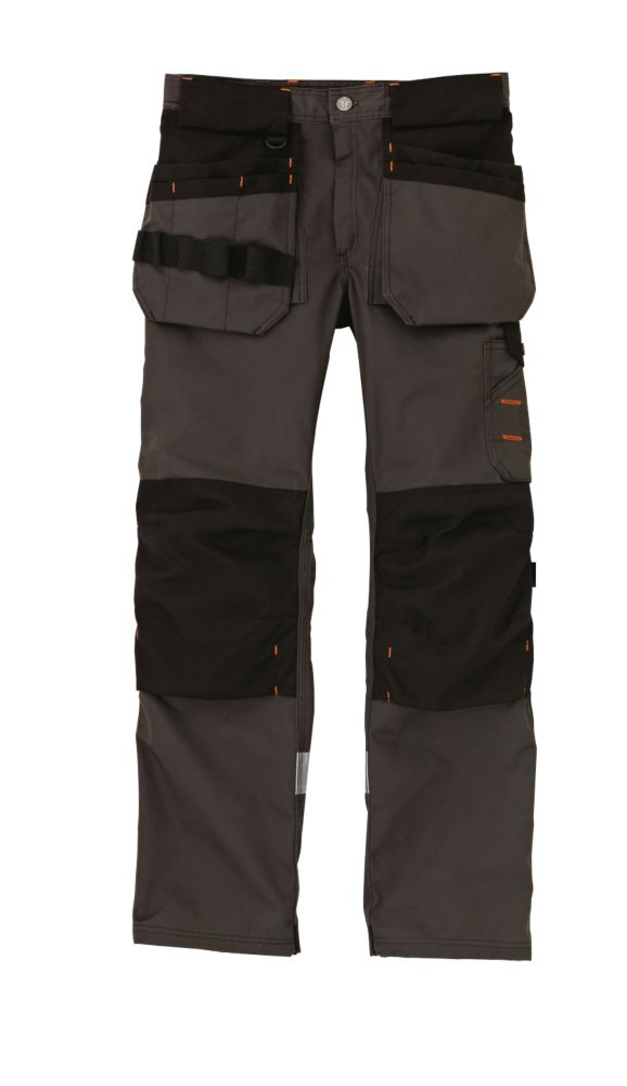 "Scruffs Trade Trousers Graphite Grey 34"" W 31"" L"