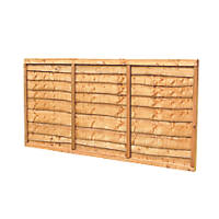 Forest Closeboard Panel Fence Panels 1.82 x 1.2m 10 Pack