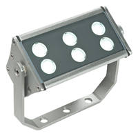 Saxby Gleam LED Floodlight 12W Silver