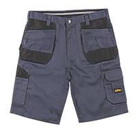 "Site Jackal Multi-Pocket Shorts Grey / Black 34"" W"