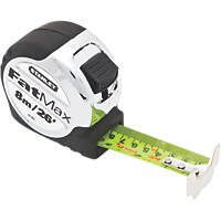 Stanley Fatmax Pro Short Tape Measure 8m x 32mm