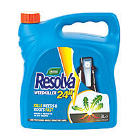 Westland Resolva 24hr Ready-to-Use Weedkiller 120m² 3Ltr