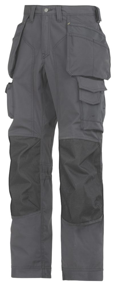"Snickers Rip-Stop Pro-Kevlar Floorlayer Trousers 35"" W 32"" L"