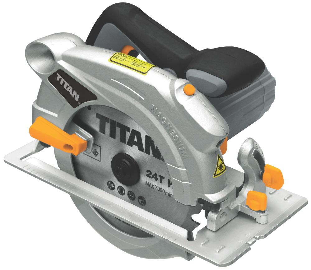 Titan TTB286CSW 190mm Circular Saw 230V