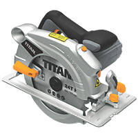 Titan TTB286CSW 1500W 190mm Circular Saw 230V