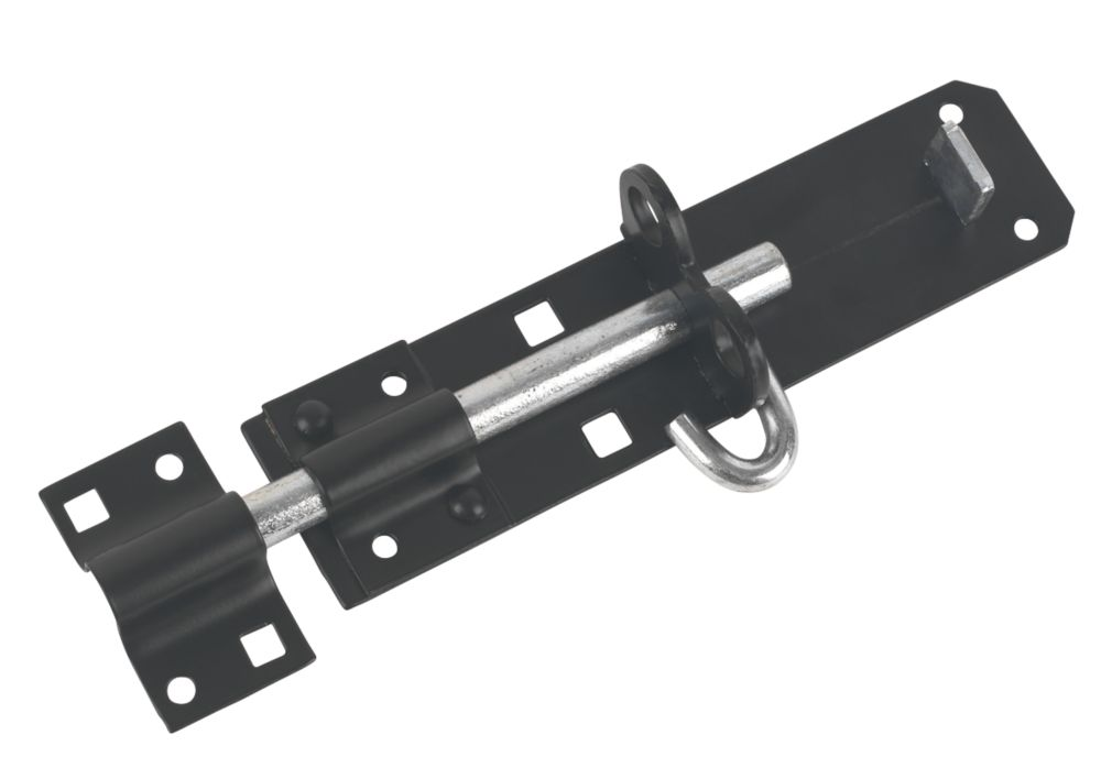 Brenton Gate Bolt Black 152mm
