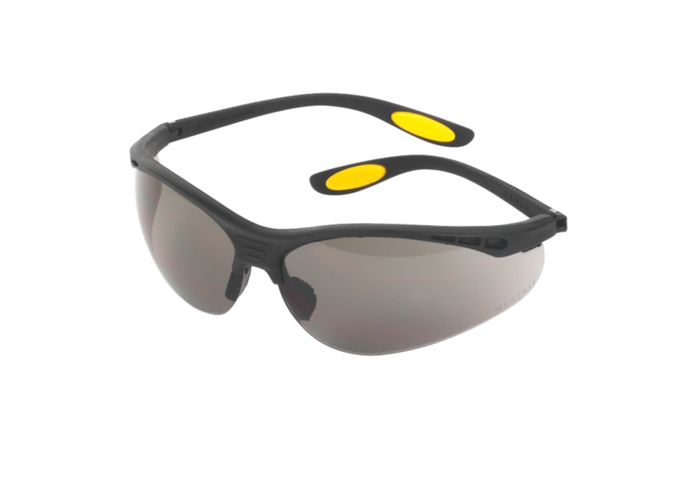 DeWalt Reinforcer Smoke Lens Safety Specs