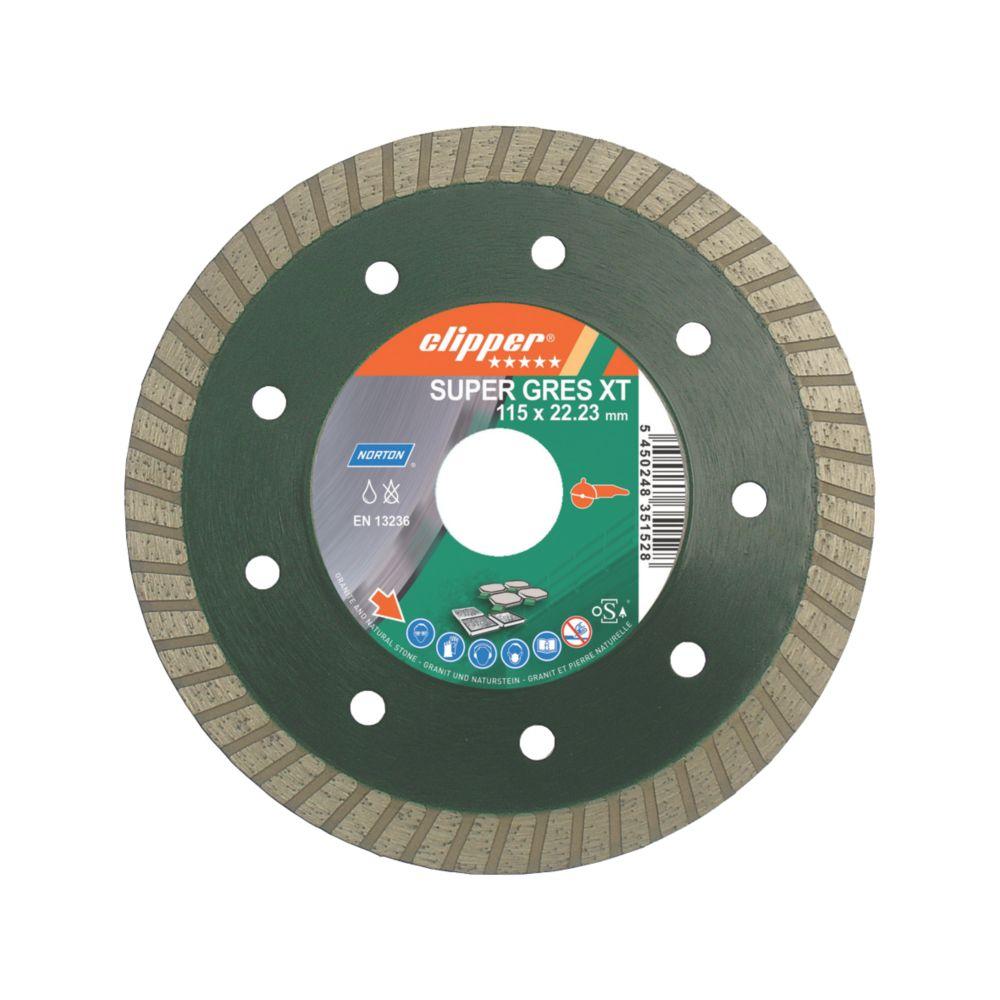 Super Gres XT Tile Cutting Blade 115 x 22mm