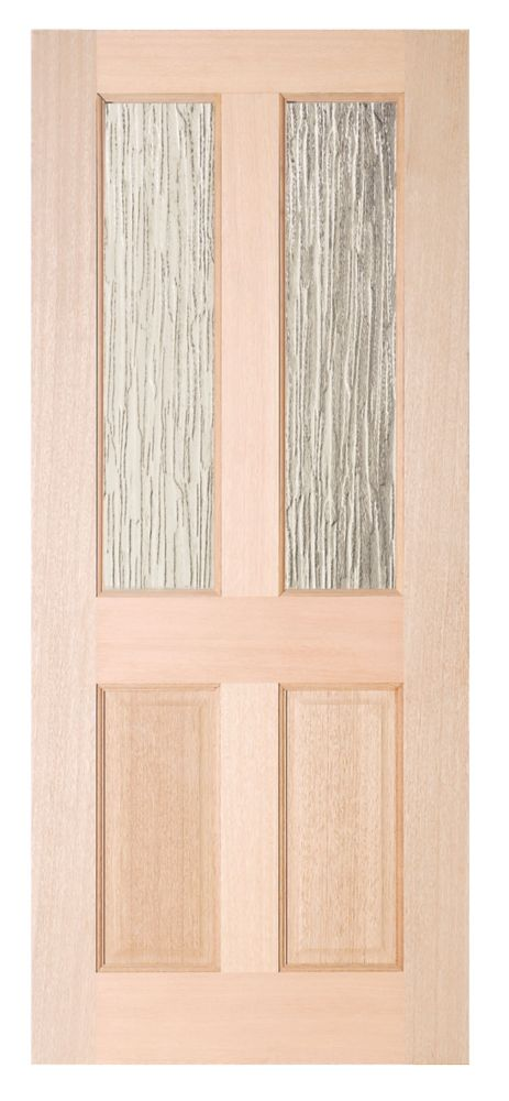 Jeld-Wen Taylor 2-Light Double-Glazed Exterior Door Unfinished 838 x 1981mm