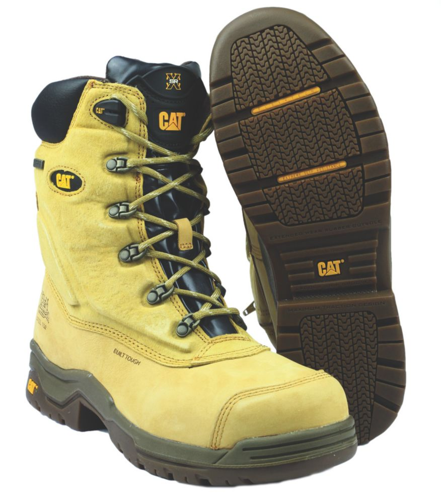Caterpillar Supremacy Honey Safety Boot Size 8