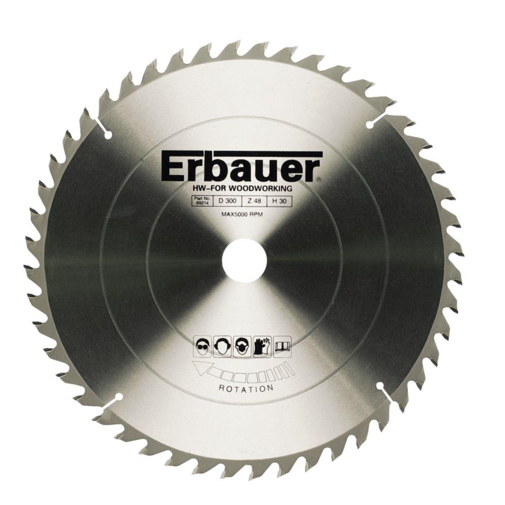 Erbauer TCT Circular Saw Blade 48T 216x30mm
