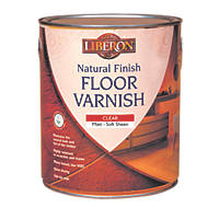 Liberon Natural Finish Water-Based Floor Varnish Matt 2.5Ltr