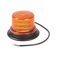 Ring Amber Surface-Mounted Compact Amber LED Beacon 18W 92mm