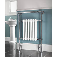 Bathroom Radiator Chrome 952 x 659mm 1699BTU