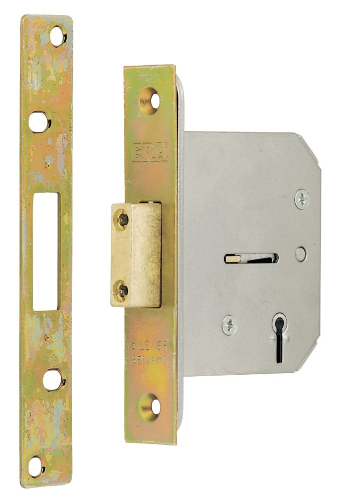 Garage Door Lock 76mm Pack of 2